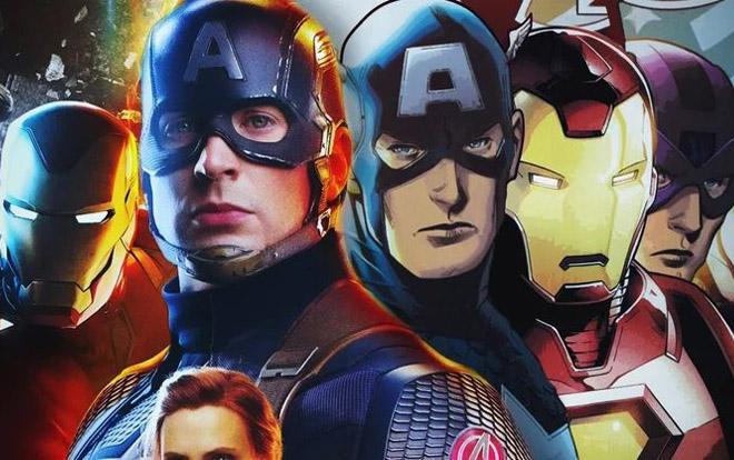 Avengers phiên bản điện ảnh quyết chiến cùng Avengers phiên bản truyện tranh ảnh 0