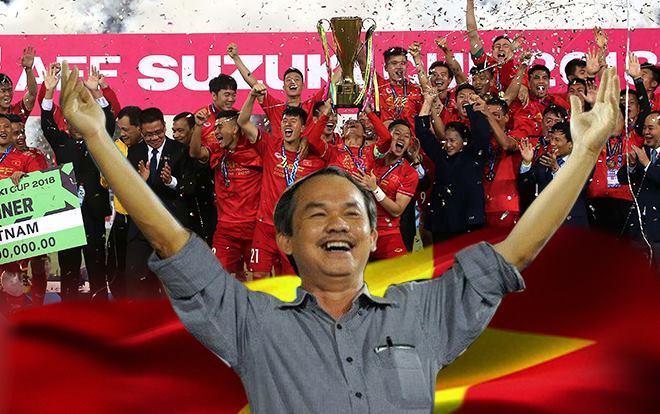 Thành công của bóng đá Việt Nam có dấu ấn kiến tạo và kỳ công đặc biệt của bầu Đức.
