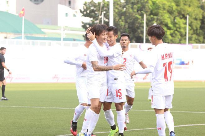 U22 Myanmar đã chính thức có tấm vé vào vòng bán kết sau trận thắng Campuchia.