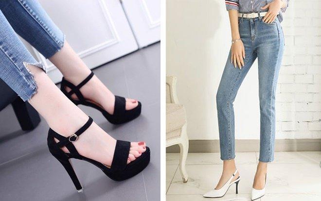 Sinh viên ĐH Bách Khoa TP.HCM không được mang giày cao gót, hạn chế mặc quần Jean. Ảnh minh họa