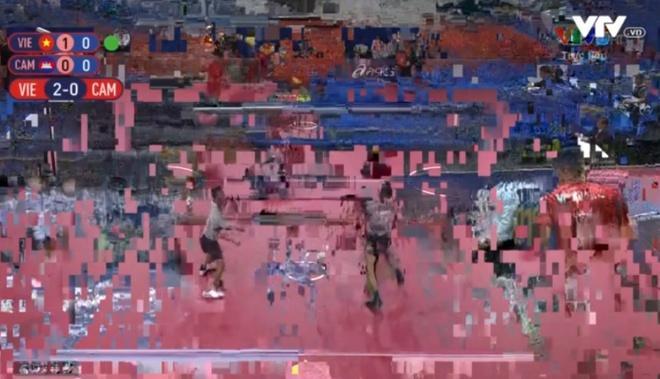 Chất lượng truyền hình của SEA Games 30 nhận nhiều lời chê. (Ảnh chụp màn hình/ Zing)