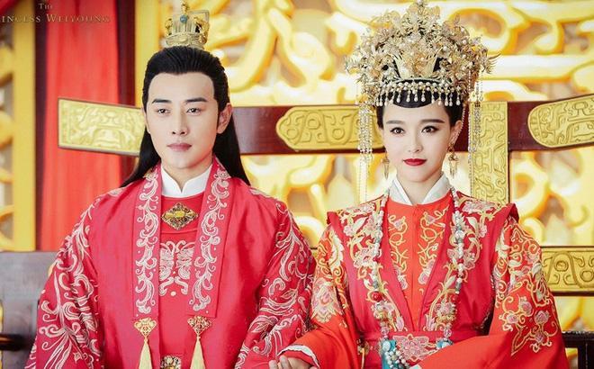 Mỹ nhân Hoa ngữ và màu đỏ vương quyền trong các bộ phim truyền hình ảnh 8
