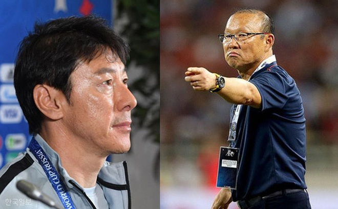 Theo bản tin thể thao hôm nay, HLV Park cho rằng ông sẽ không nhượng bộ HLV Shin vì lý do … đồng hương.
