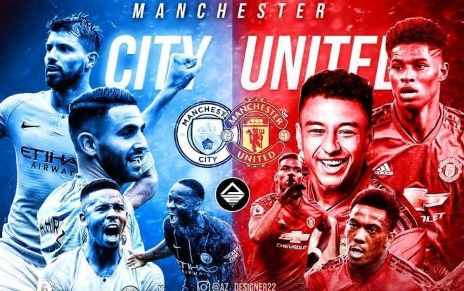 Theo lịch thi đấu bóng đá hôm nay,Man United sẽ đại chiến với Man City.