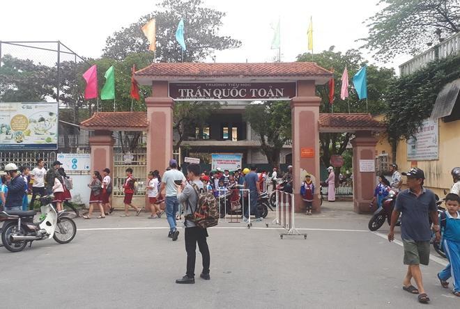 Trường Tiểu học Trần Quốc Toản. Ảnh: báo CAND