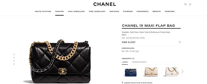 Túi xách Chanel 19 đang là mẫu túi được cả loạt sao Việt và thế giới ưa chuộng với nhiều màu sắc và size to nhỏ khác nhau