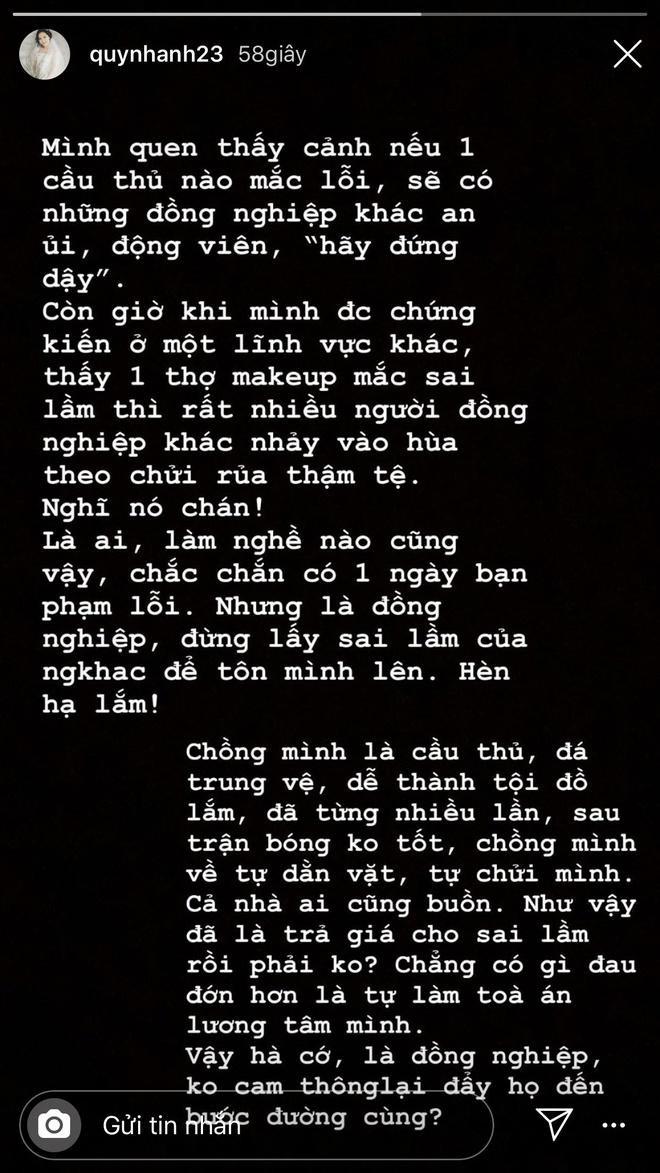 Bạn gái cầu thủ Việt và những lần đáp trả dân mạng cực gắt ảnh 3
