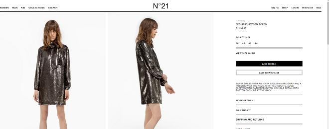 Chiếc váy mà mỹ nhân Hàn mặc có giá tầm hơn 22 triệu đồng