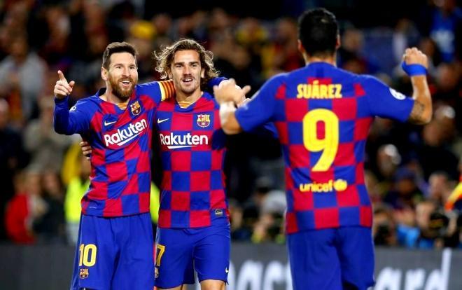 Lịch thi đấu bóng đá hôm nay ngày 15/2, Barcelona gặp Getafe lúc 22h00.