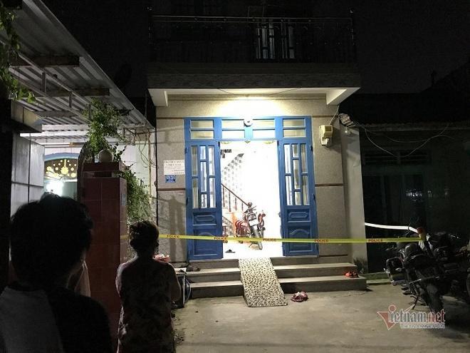 Căn nhà trọ nơi xảy ra vụ việc. Ảnh: báo Vietnamnet