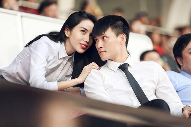 Vợ Chồng Lê Công Vinh - Thủy Tiên.