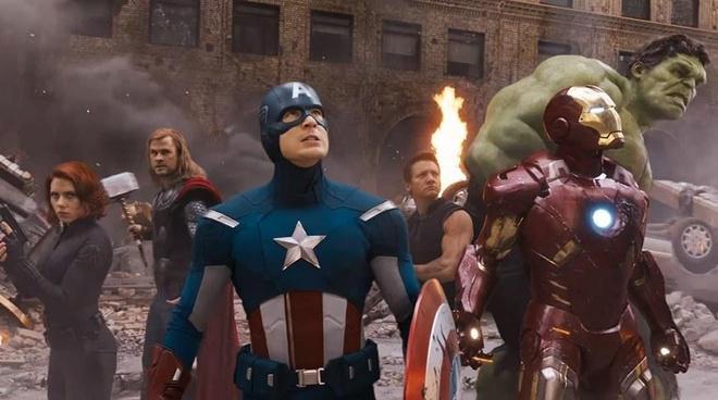 Black Widow là 1 trong 6 Avengers đầu tiên