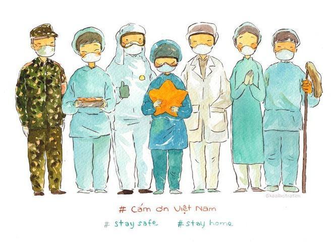 Cảm ơn các y bác sĩ, nhân viên y tế, bộ đội, công an, phi công, tiếp viên của các hãng bay… đã nỗ lực hết mình trong cuộc chiến này. Việt Nam quyết thắng đại dịch!
