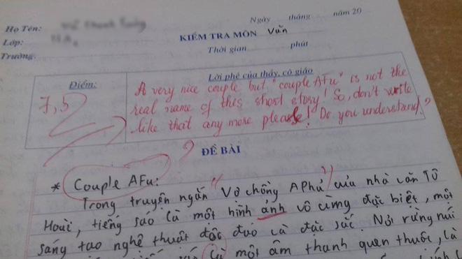 """Màn """"phản dame"""" cực gắt của giáo viên dạy Văn. Ảnh: Group Trường Người Ta"""