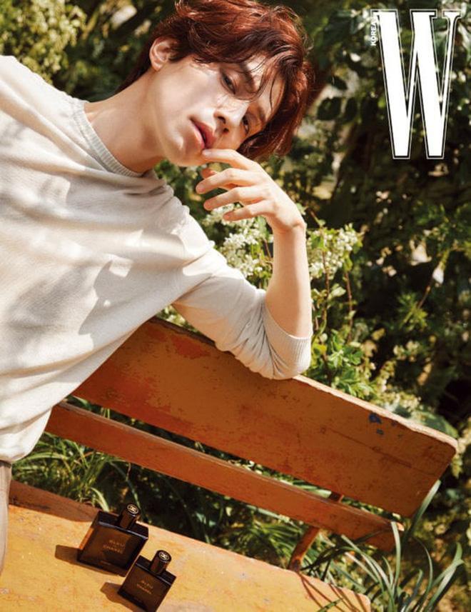 Thần chết Lee Dong Wook đẹp trời ngời ngời trên tạp chí W mà vẫn khiêm tốn nói Goblin là bộ phim của Gong Yoo ảnh 1
