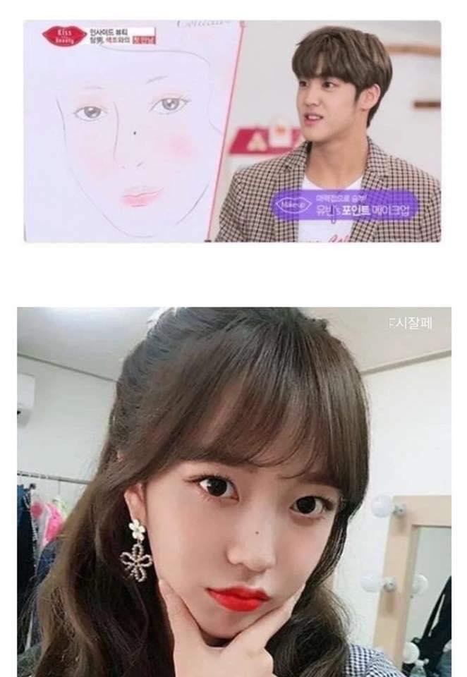 Song Yuvin phác họa hình mẫu bạn gái 'có nốt ruồi trên mũi' trong 1 show truyền hình.