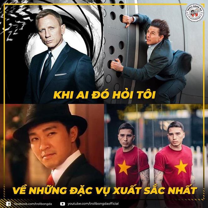 Cầu thủ mang dòng máu Việt Nam - Tristan Do được fan Việt kỳ vọng sẽ hoàn thành nhiệm vụ điệp viên trong trận đấu tối nay. (Ảnh Troll bóng đá)