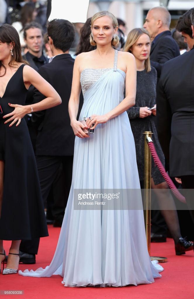 Nữ diễn viên Diane Kruger.
