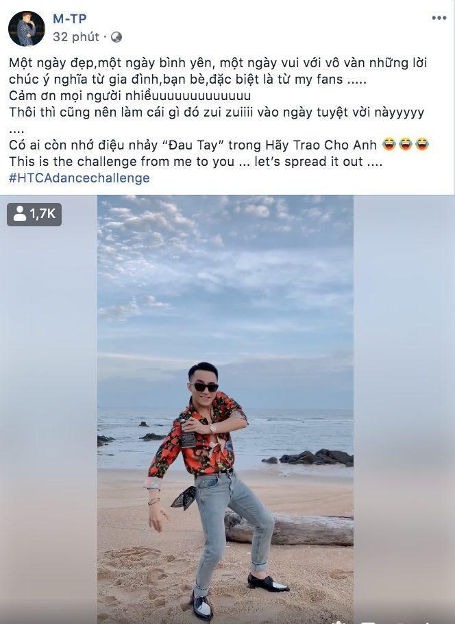 Mừng sinh nhật, Sơn Tùng khởi động thử thách cover điệu nhảy đau tay trong MV Hãy trao cho anh ảnh 0