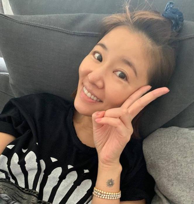 Bức ảnh được chính Cá Heo Nhỏ chụp cho Lâm Tâm Như được cô chia sẻ trên trang cá nhân của mình
