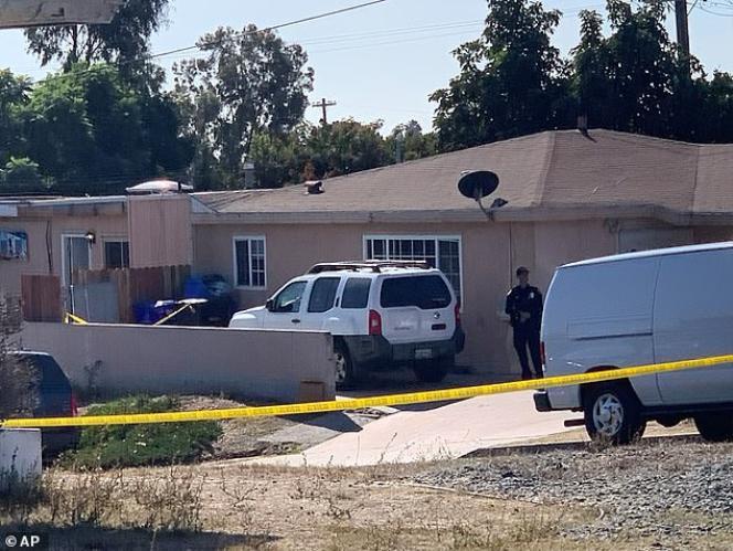 Vụ xả súng kinh hoàng xảy ra ở San Diego.
