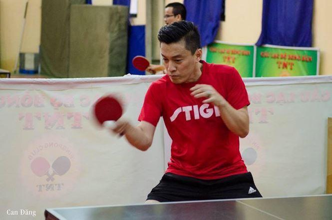 Nam ca sĩ Lam Trường sẽ phô diễn khả năng chơi bóng bàn tại giải đấu do đạo diễn Nguyễn Quang Dũng tổ chức. Ảnh: Internet.
