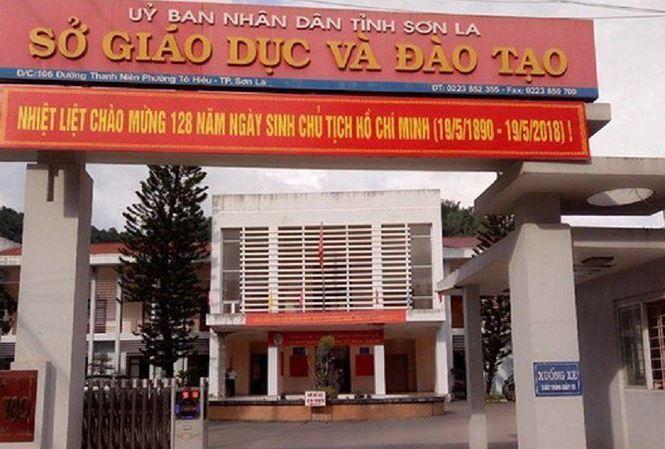 Sở giáo dục và đào tạo tỉnh Sơn La.