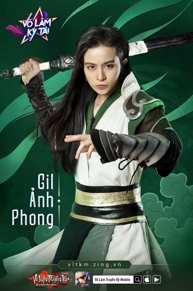 Gil Ảnh Phong – trang nam tử giới võ hiệp, qua diễn xuất nhập tâm của Gil được hiện lên chân thực. Ngắm Gil Lê soái khí ngời ngời thế này bảo sao các chị em không xao xuyến cho được.