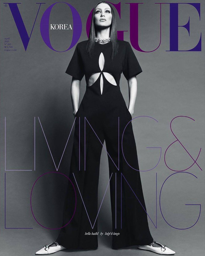 Chân dài hàng đầu làng mốt dáng đẹp như tạc tượng trên tờ Vogue Korea