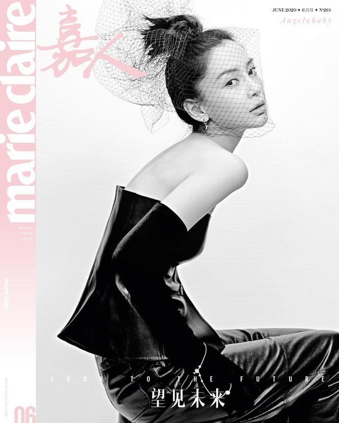 """Angelababy đầy ma mị, quyến rũ trên số tạp chí mới nhất trong concept """"chất"""" không thể chê vào đâu được"""