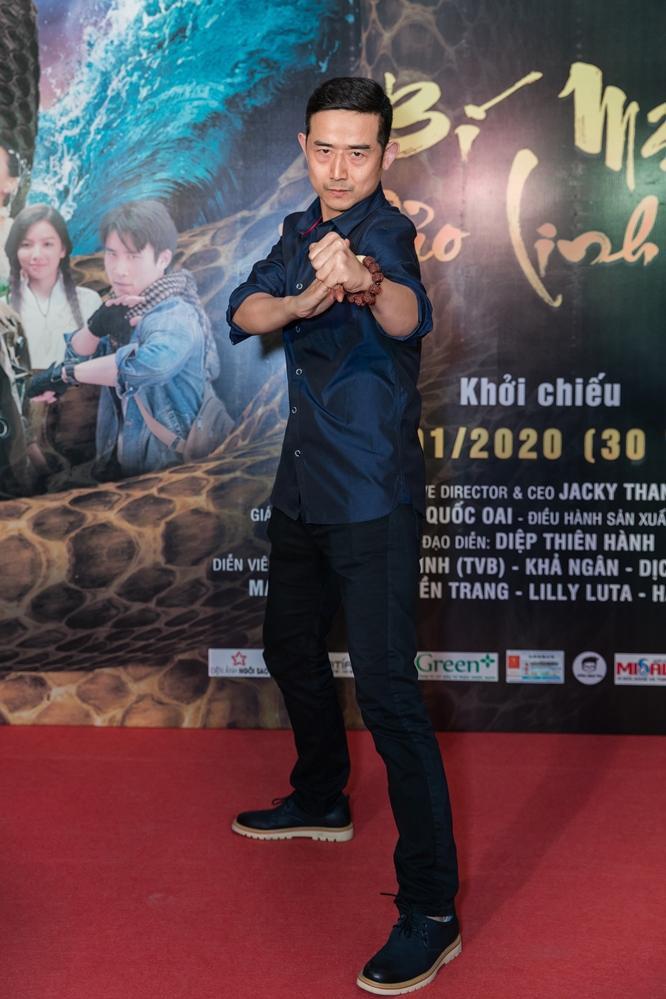 Bí mật đảo Linh Xà: Dàn diễn viên Việt Nam và quốc tế cùng đọ sắc thêm thảm đỏ ảnh 15