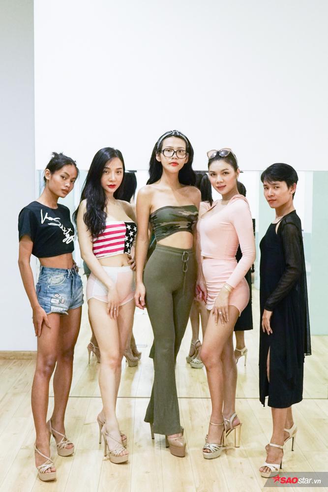 Đội hình team Xanh của Khả Trang và Mạch Huy.