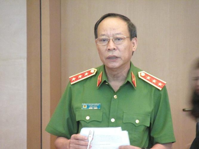 Thượng tướng Lê Quý Vương, Thứ trưởng Bộ Công an. Ảnh: báo Dân Việt.
