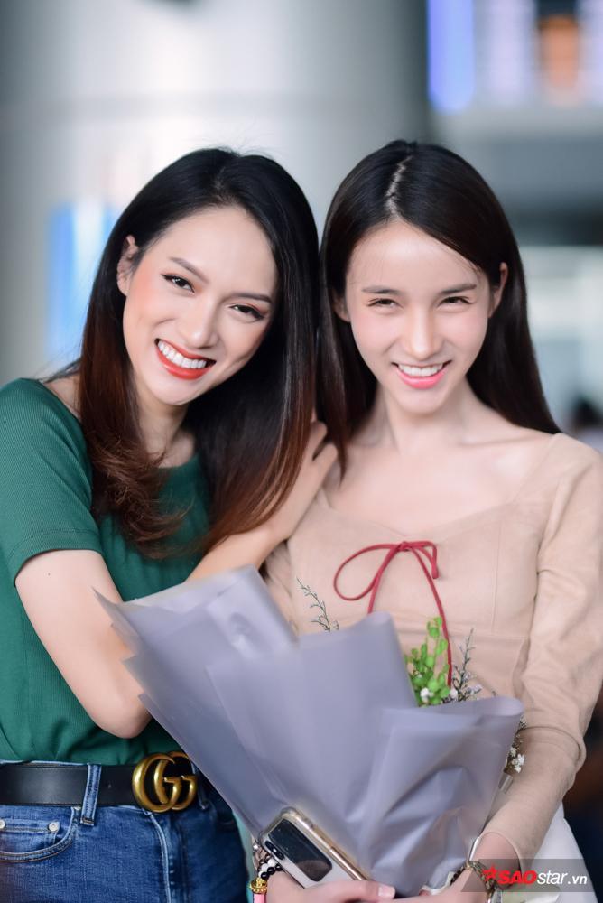 Được Yoshi quan tâm, Hương Giang thừa nhận rất nhớ cô em gái Thái Lan đáng yêu.