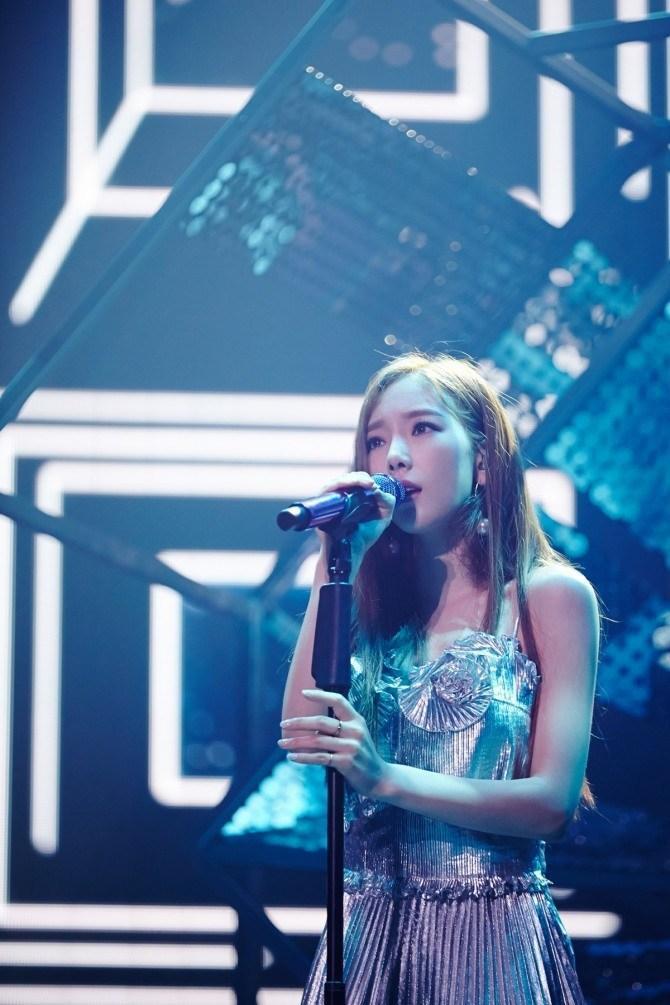 Vocal queen Kim Taeyeon.