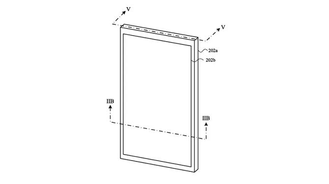 Cảm biến mới cho phép iPhone phân biệt chính xác giữa ngón tay và nước trên màn hình. (Ảnh:USPTO)