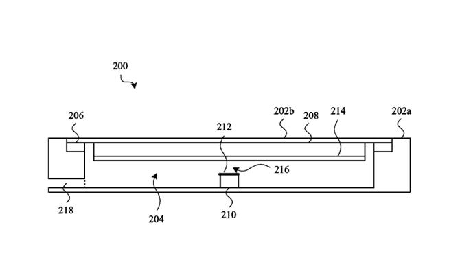 Bằng sáng chế mới của Apple cho thấy hãng đang muốn tạo ra một chiếc iPhone có thể hoạt động trơn tru dưới nước.(Ảnh:USPTO)