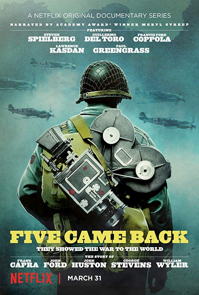 """Poster phim """"Five Came Back""""."""