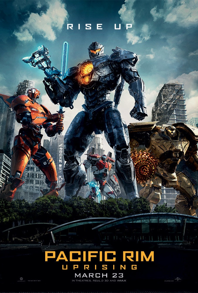 """Đội quân robot trở lại giải cứu thế giới trong """"Pacific Rim Uprising""""."""