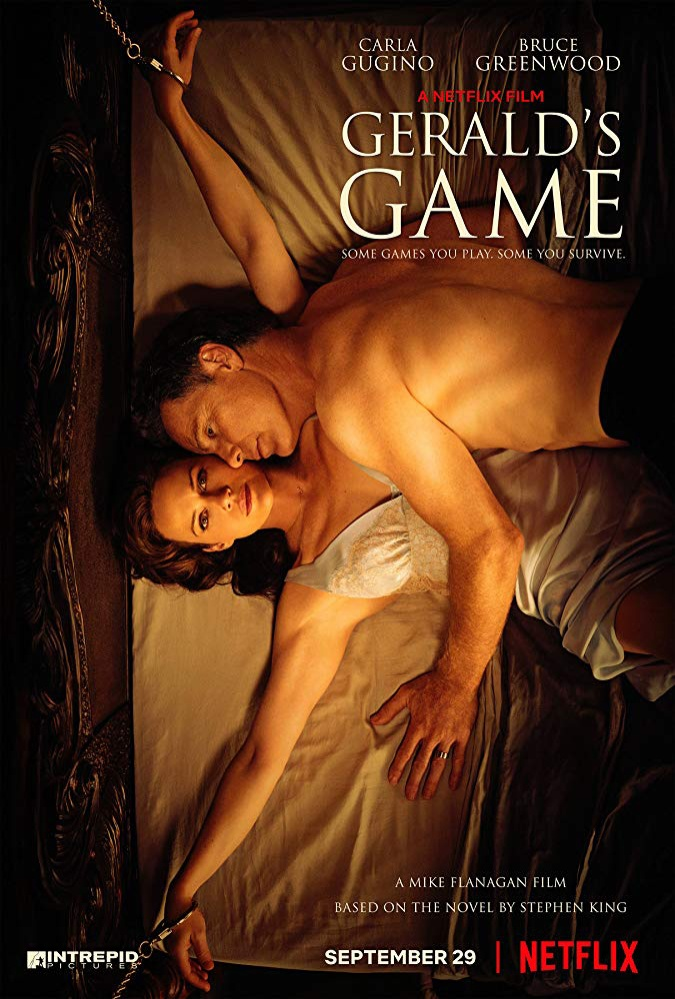"""Poster phim kinh dị """"Gerald's Game""""."""