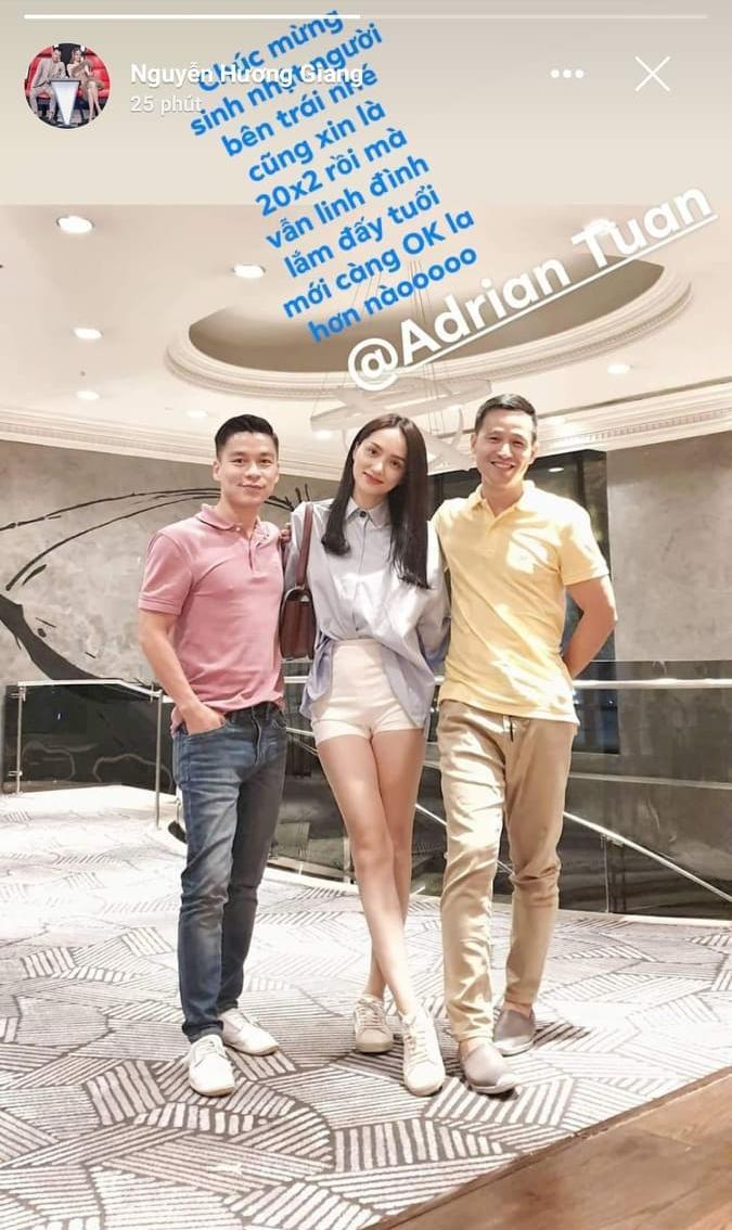 Hương Giang đăng ảnh chúc mừng sinh nhật bạn thân, các fan thở phào nhẹ nhõm vì cô nàng đã tháo bột.