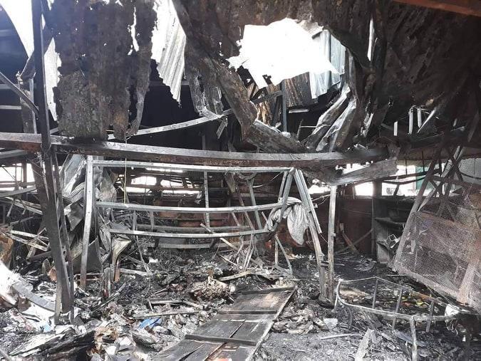 Vụ cháy còn khiến một cháu bé 8 tuổi tử vong