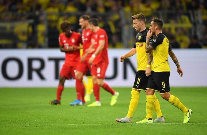 Bayern không tài nào áp đặt được lối chơi lên Dortmud.