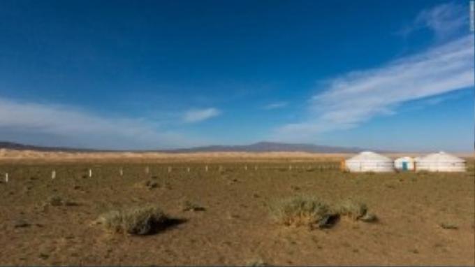Mông Cổ đón khoảng 250 ngày nắng trong năm.