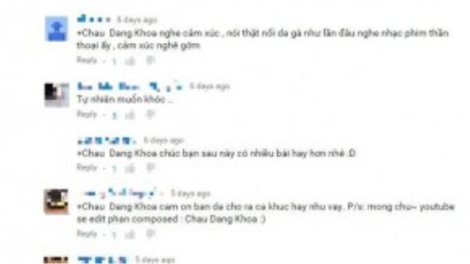 Nhạc sĩ Châu Đăng Khoa cho hay, ca khúc do Ái Phương trình bày không phải là nhạc trong phim của đạo diễn Việt kiều Victor Vũ.