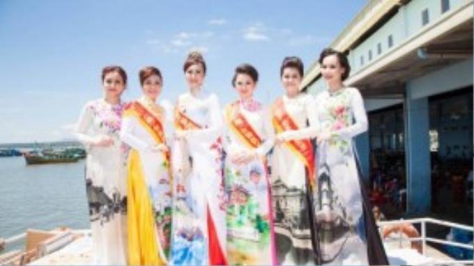 Ngay sau đêm chung kết, các thí sinh lọt top 3 đã cùng Mai Thu Huyền tham gia thực hiện bộ ảnh kỷ niệm tại đảo Phú Quý.