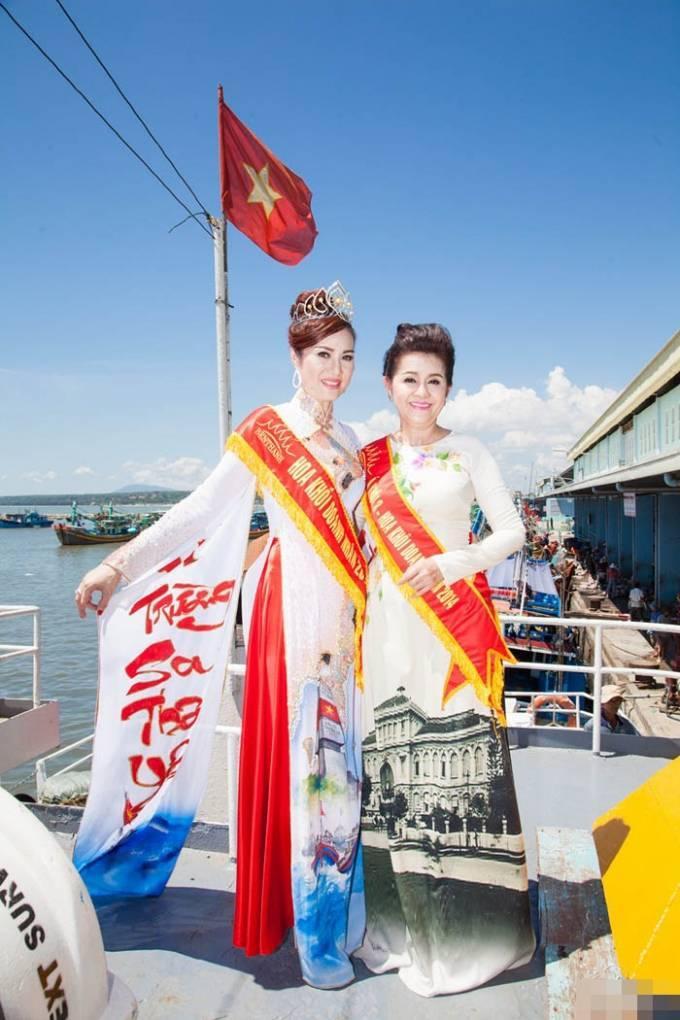 Nguyễn Thùy Linh đăng quang Hoa khôi Doanh nhân 2015 ảnh 5