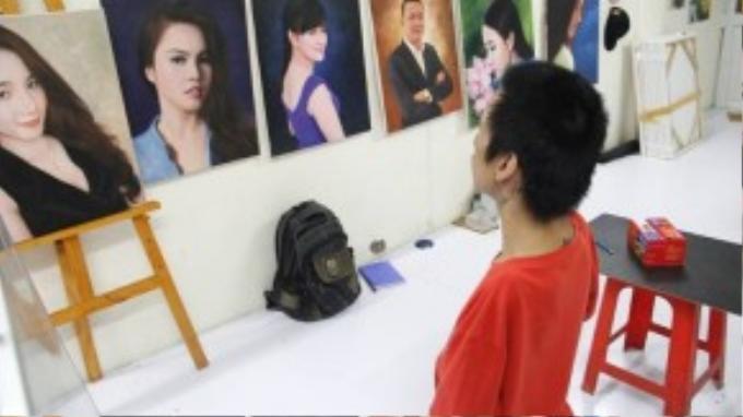 Châu từng tham gia các cuộc thi vẽ tranh và đạt nhiều giải thưởng lớn. Nằm trong top 3 tại các cuộc thi Bảo tàng chứng tích chiến tranh, Nét vẽ xanh, cùng các cuộc thi khác của trường học và TP HCM. Trong cuộc thi Chiến thắng nỗi đau được tổ chức trong quy mô cả nước, anh đã đoạt giải khuyến khích…