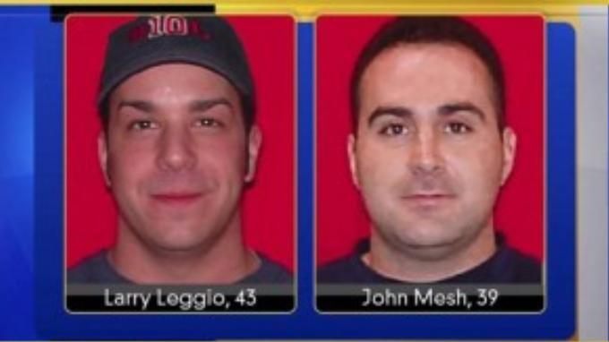 Hai người lính cứu hỏa xấu số đã hy sinh khi đang làm nhiệm vụ dập tắt đám cháy tại cửa hàng của Hồng.