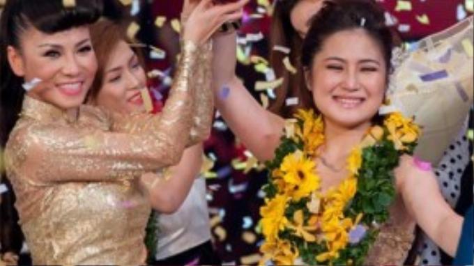 Hương Tràm đăng quang Giọng hát Việt 2012.